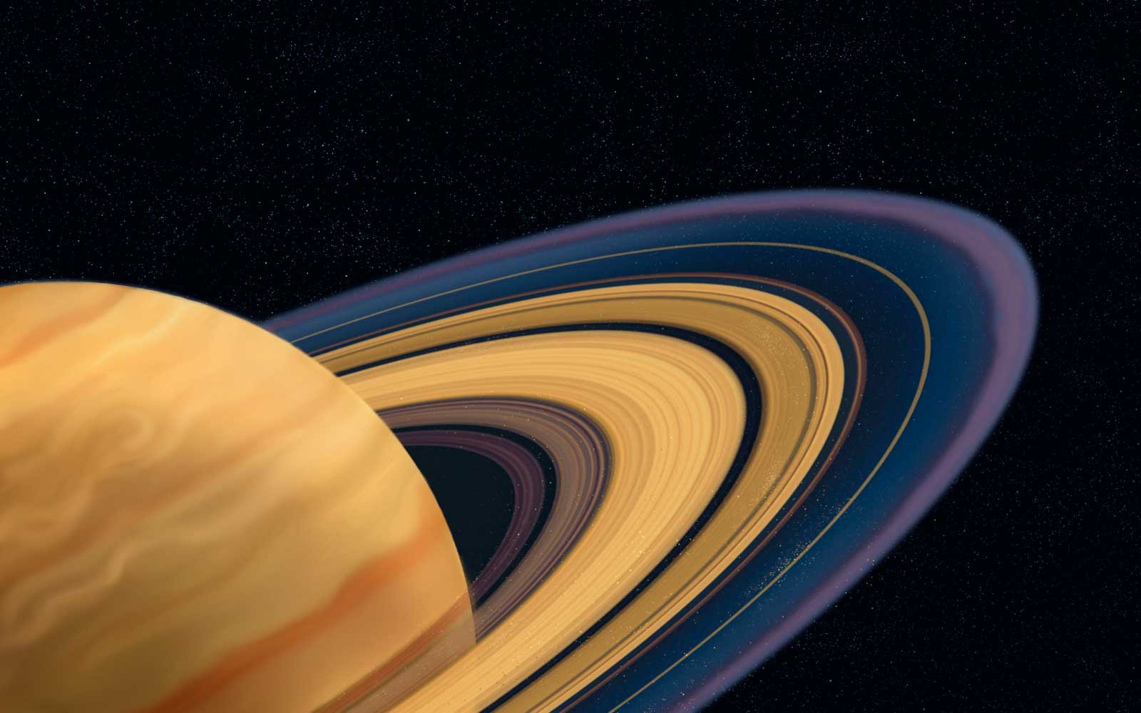 Saturn's rings cassini