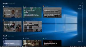 Microsoft împrumută o pagină din manualul Apple și o îmbunătățește: Windows 10 Timeline