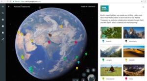 Google Earth se transformă într-o unealtă educațională pentru elevi