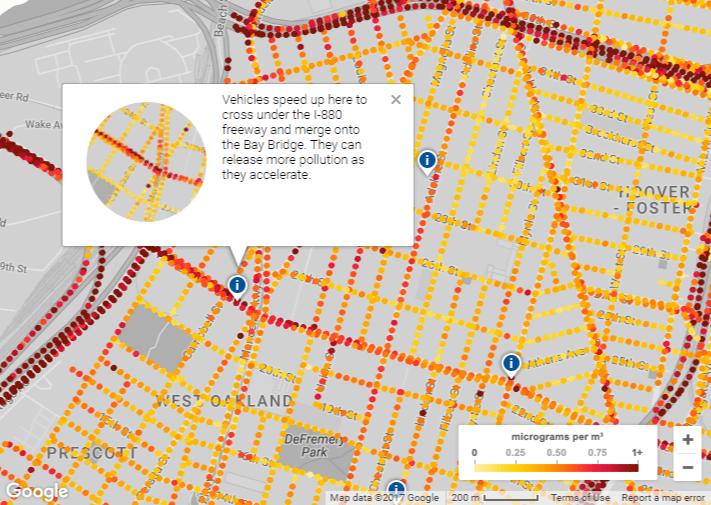 google street view poluare