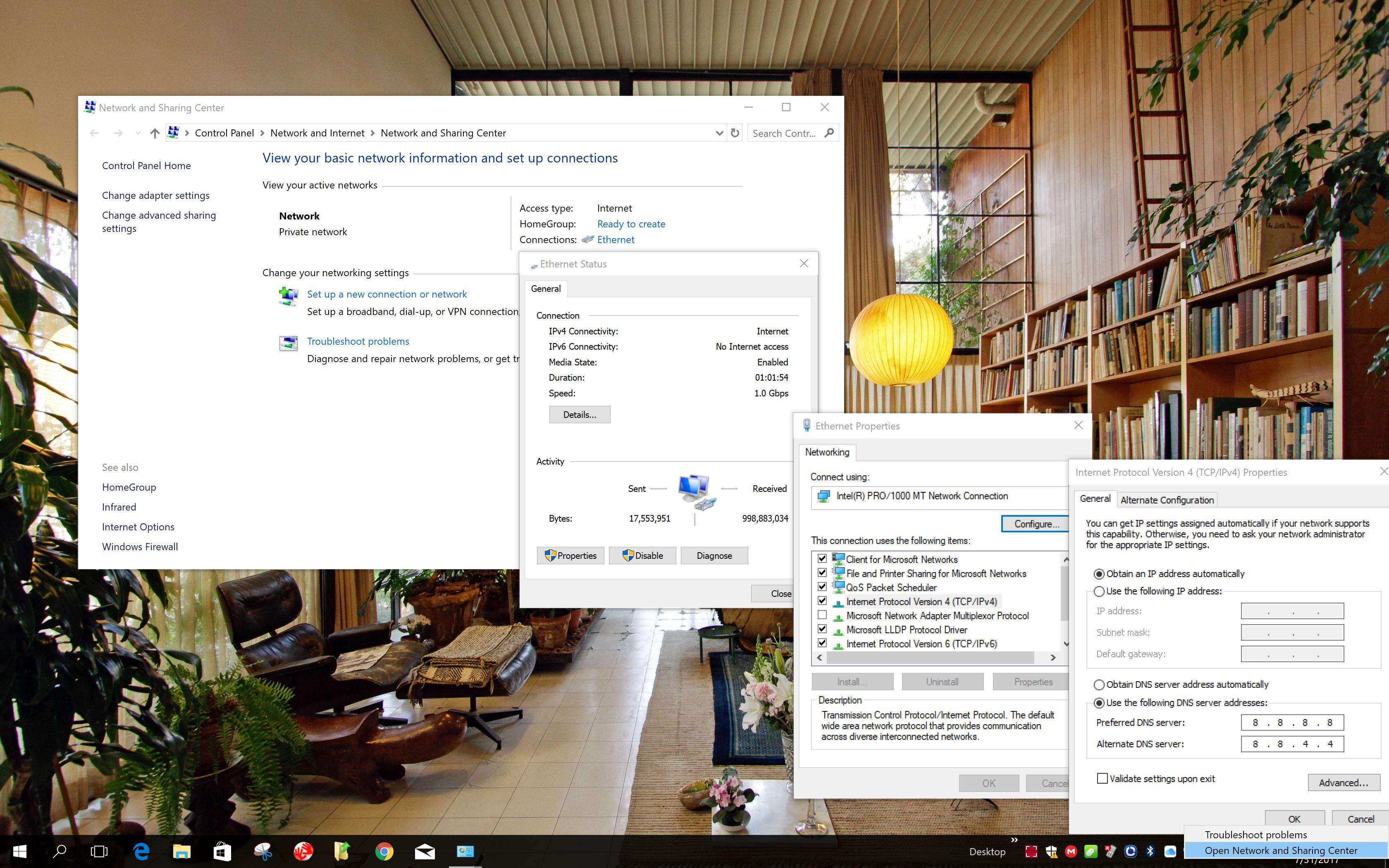 Cum schimbi DNS in Windows 10