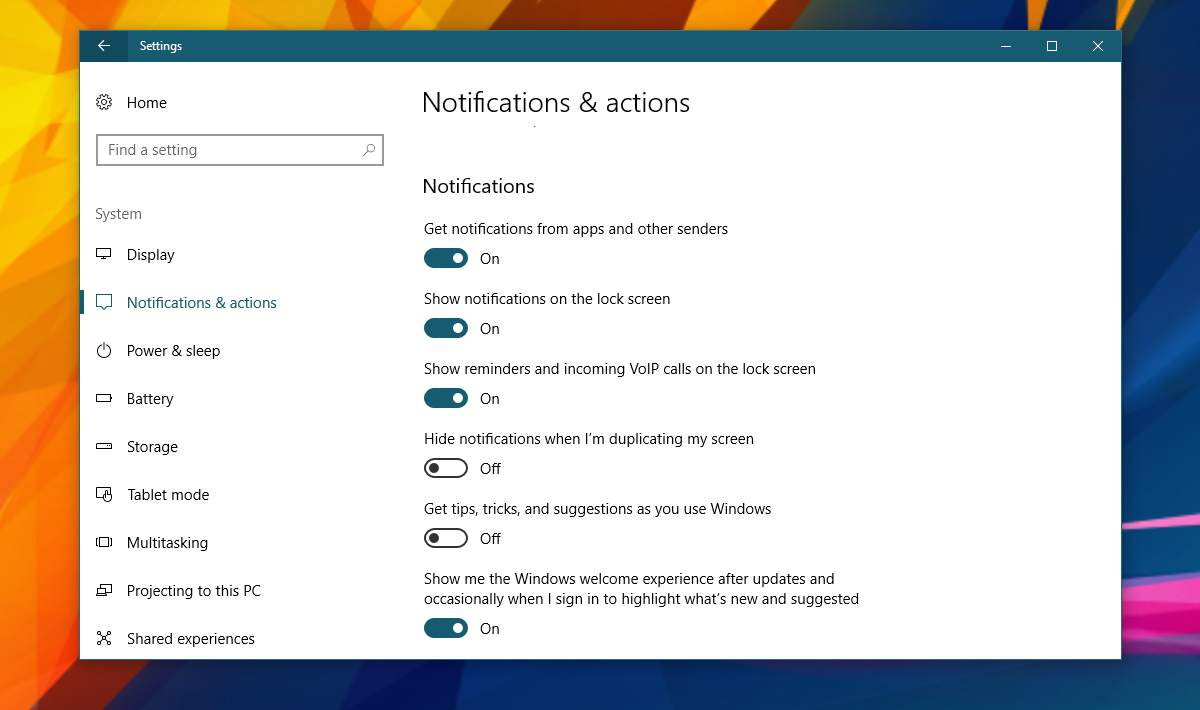 disable-windows-welcome-screen