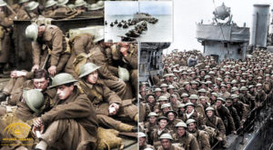 Povestea evacuări de la Dunkirk, spusă în imagini color: Poze istorice cu flota civilă