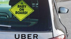 O femeie și-a născut copilul într-un Uber