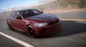 BMW a anunțat noul M5 prin Need for Speed Payback