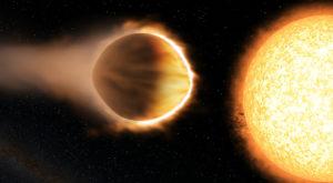 A fost descoperită o planetă cu atmosferă strălucitoare