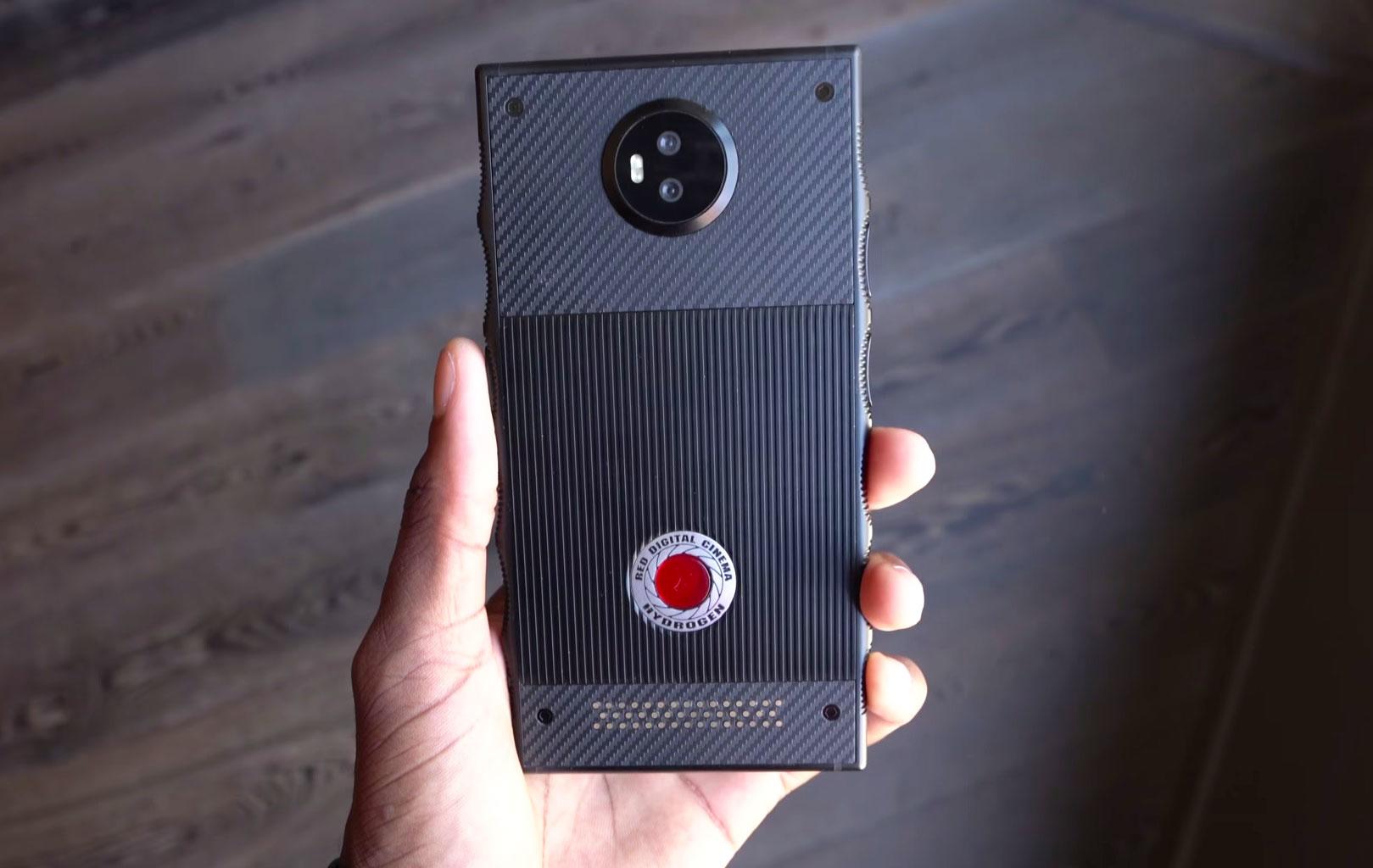 red hydrogen prototip