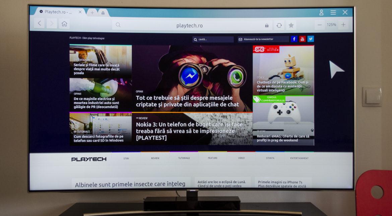 Samsung Q8C îți oferă un display QLED 4K pe care vezi mai bine ca în realitate [PLAYTEST]