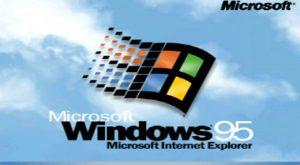 Windows 95 aniversează astăzi 22 de ani de la lansare