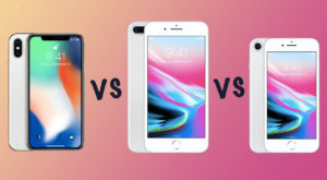 iPhone 7 versus iPhone 8 versus iPhone X: ce s-a schimbat