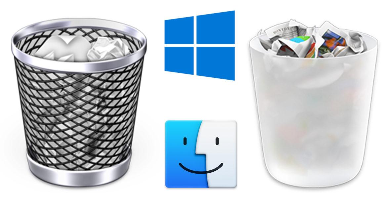 Cum golești forțat coșul de gunoi pe Windows și mac OS