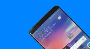 Poza neoficială cu Huawei Mate 10 îți arată ecranul acestuia