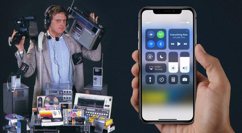 """Toate lucrurile """"copiate"""" de iPhone X de la toți ceilalți"""