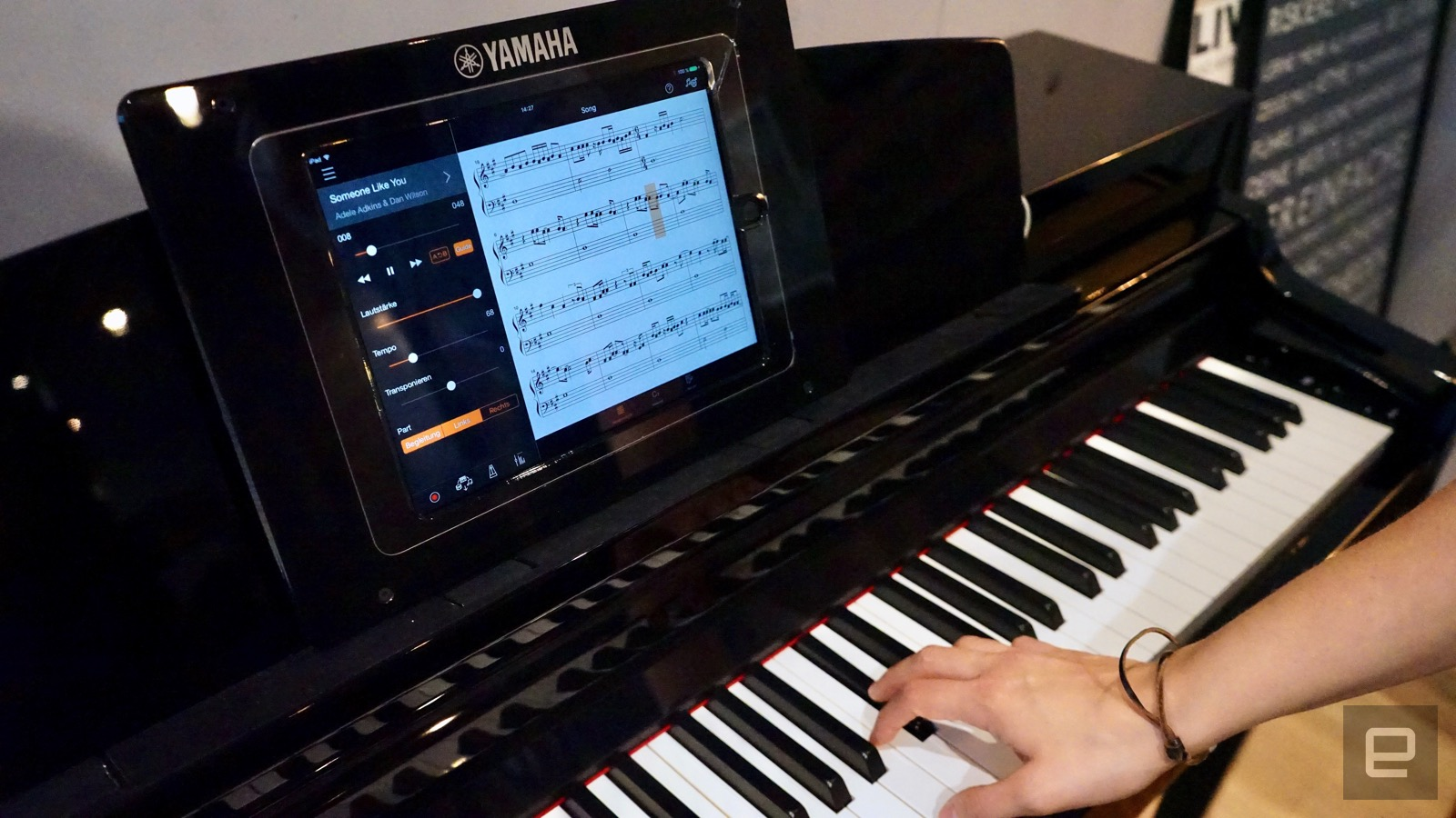 Yamaha clavinova smart alexa