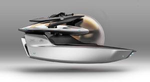 Aston Martin a lansat un submarin inspirat de James Bond