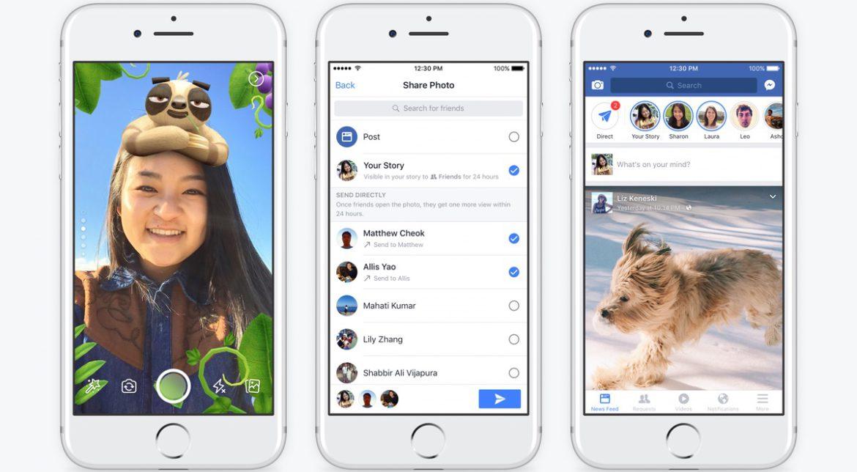 Facebook chiar vrea să folosești Stories, așa că le importă din Instagram