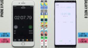 iPhone 8 Plus pierde cel mai important test de performanță în fața Note 8