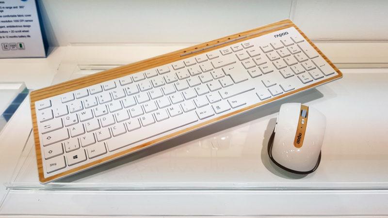 tastatura lemn rapoo 2