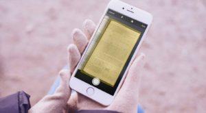 Cum scanezi un document pe iPhone fără aplicații suplimentare în iOS 11 [VIDEO]