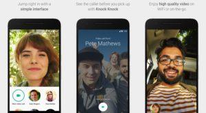 """Google """"împrumută"""" de la Apple introducerea apelurilor video pe mobile"""