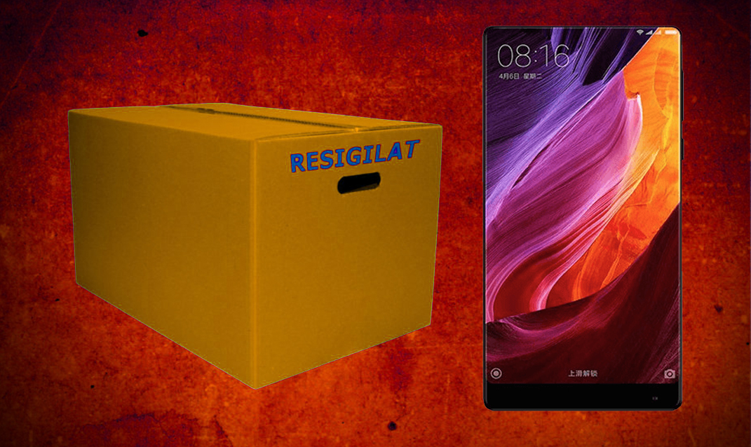 eMAG reduceri resigilate Xiaomi Mi Mix Black Friday 2017