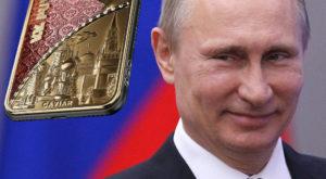 Cel mai scump iPhone X din lume va fi unul din aur închinat lui Putin