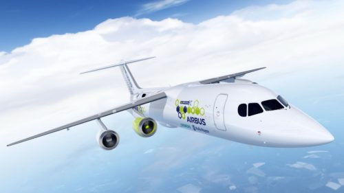 Primul avion electric ar putea veni de la Airbus și aceste companii globale
