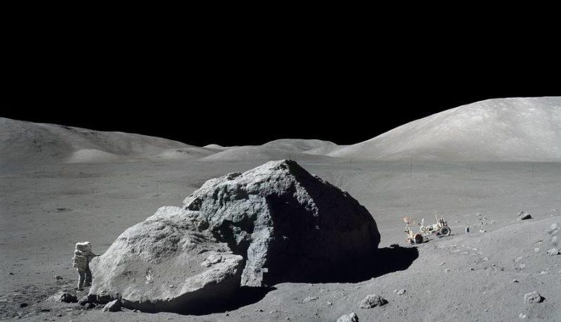 Astronaut Aterizare Luna 2