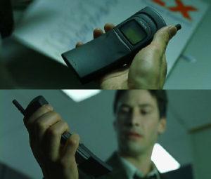 Nokia 8110 filmul Matrix