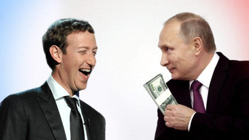 Rusia a finanțat Facebook și Twitter: rolul lui Putin e de necontestat