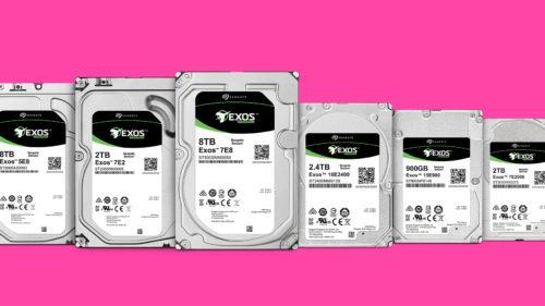 Seagate anunță Exos și Nytro cu spațiu uriaș de stocare
