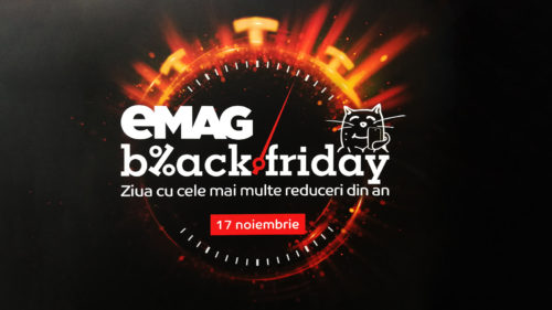 Cum primești bani de Black Friday de la eMAG
