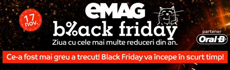 black friday emag incepe