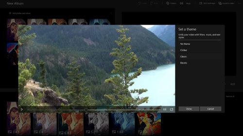Cum faci colaje video în Windows 10 Fall Creators Update
