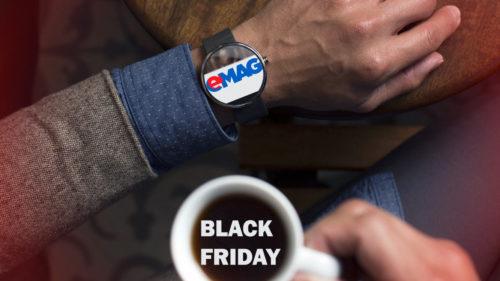 Când începe Black Friday eMAG nu mai e un secret, iar reducerile le găsești în catalog