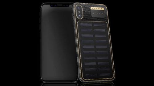iPhone X cu panou solar: telefonul pe care nimeni nu l-a cerut, dar există