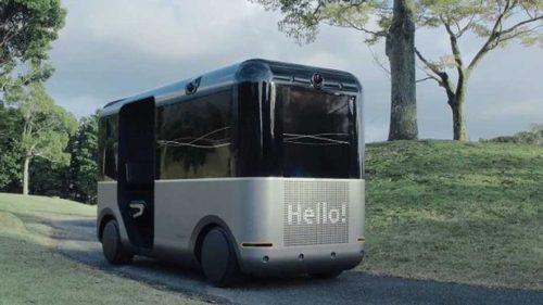Sony vrea să te plimbe într-un minibus autonom fără geamuri