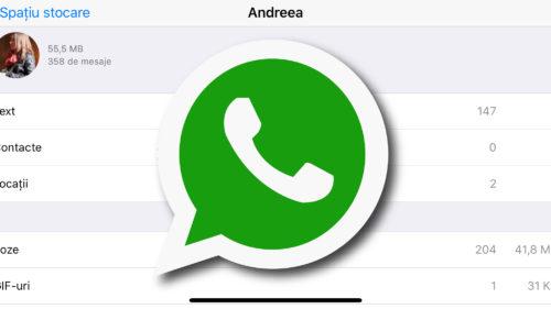 Cum faci curățenie pe WhatsApp și câștigi spațiu pe telefon