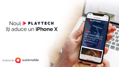 CONCURS iPhone X: PLAYTECH se înnoiește!