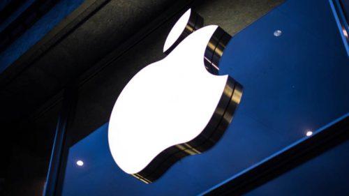 apple proces iphone lent logo