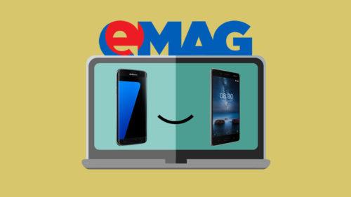 eMAG: telefoane și laptopuri excelente la prețuri mici