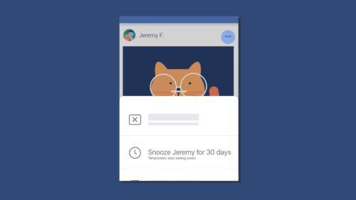Cum te ajută Facebook să-ți treci prietenii pe silent