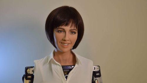 Robotul cu cetățenie vrea să lupte pentru drepturile femeii