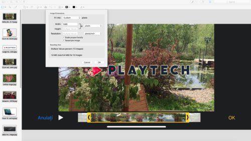 Cum redimensionezi sute de poze pe Mac, fără aplicații suplimentare
