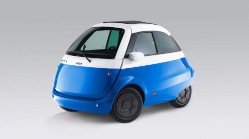 Microlino e o mașină electrică minusculă pentru hipsterul din tine