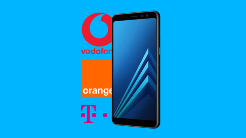 Cât costă Samsung Galaxy A8 la Orange, Vodafone și Telekom