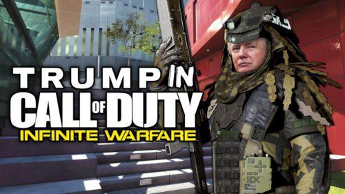 """Există doar în Call of Duty, dar Donald Trump """"vinde"""" avioane F-52"""