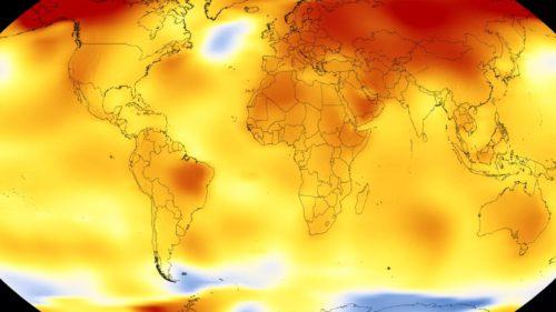 Anul 2017 a fost în topul celor mai călduroși ani din toate timpurile