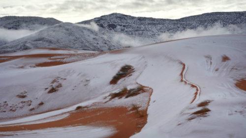 FOTO – A nins în Sahara și peisajul e așa cum te-ai gândi: de vis