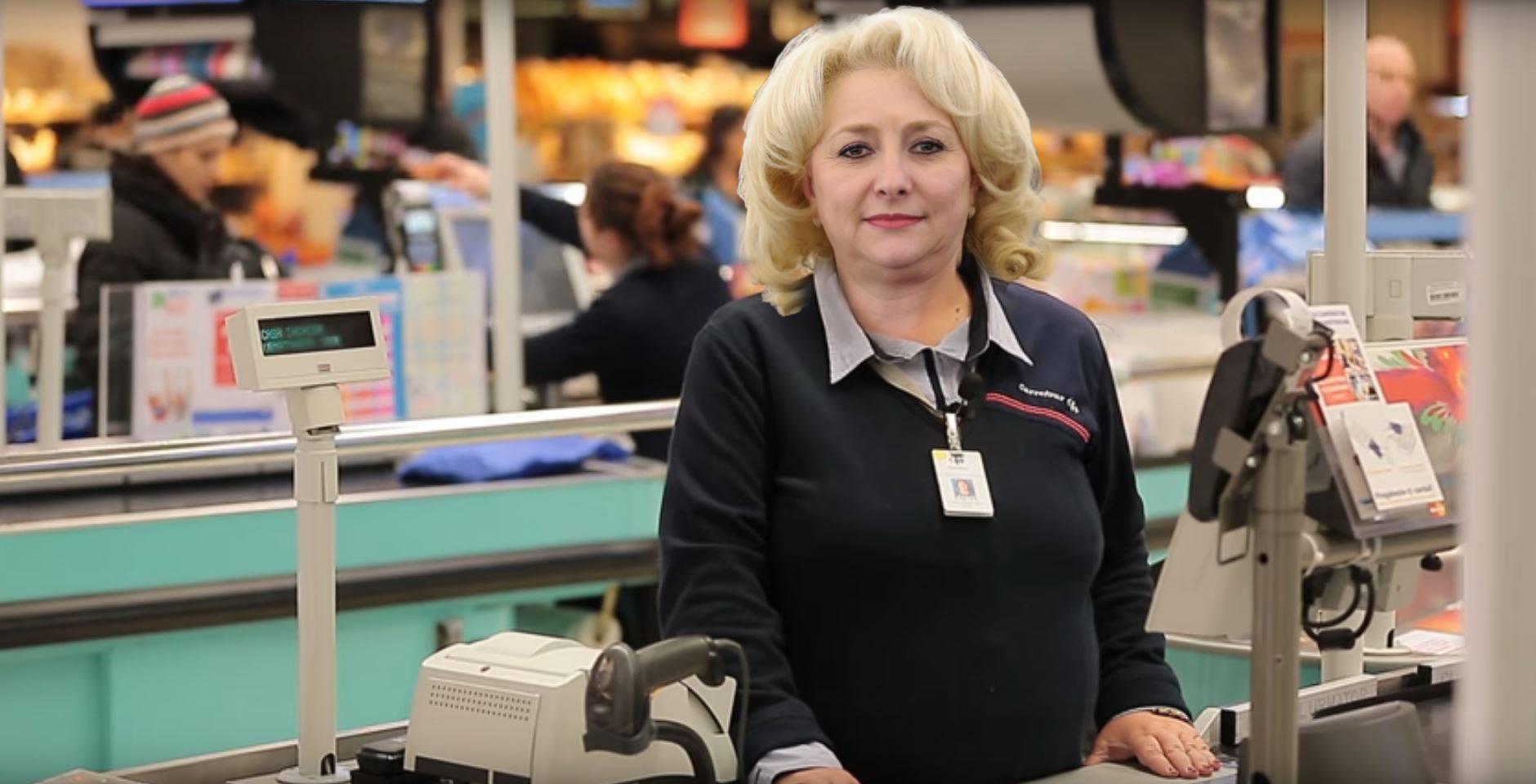 viorica dăncilă prim ministru românia meme casieriță